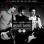 Music Facebook HTML CMS  Template 42195