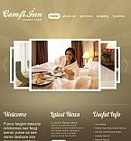 Hotels Facebook HTML CMS  Template 42197