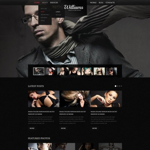 Williams - Drupal Template