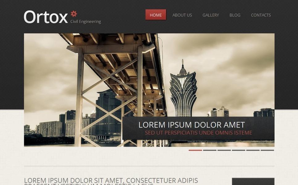 MotoCMS HTML шаблон на тему цивільне будівництво New Screenshots BIG