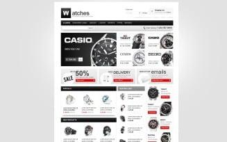 Swiss Time VirtueMart Template
