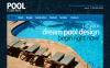 Template Moto CMS HTML  #42172 per Un Sito di Pulizia Piscine New Screenshots BIG