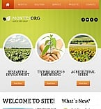 Agriculture Facebook HTML CMS  Template 42204