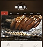 Food & Drink Facebook HTML CMS  Template 42209