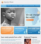 Charity Facebook HTML CMS  Template 42214
