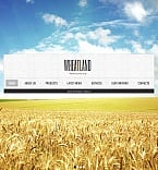 Agriculture Facebook HTML CMS  Template 42215