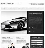 Cars Facebook HTML CMS  Template 42224