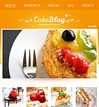 Food & Drink Facebook HTML CMS  Template 42229