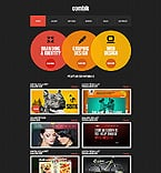 Web design Website  Template 42246