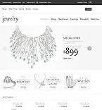 Jewelry osCommerce  Template 42254