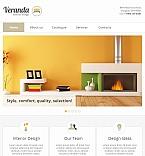 Furniture Facebook HTML CMS  Template 42263