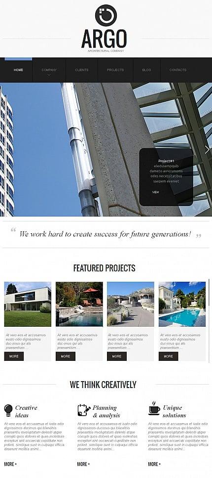 ADOBE Photoshop Template 42265 Home Page Screenshot