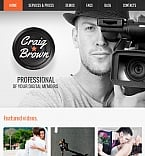 Art & Photography Facebook HTML CMS  Template 42272