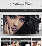 Art & Photography Facebook HTML CMS  Template 42277