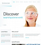 Science Facebook HTML CMS  Template 42288