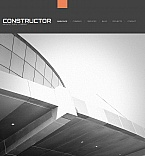Architecture Facebook HTML CMS  Template 42291