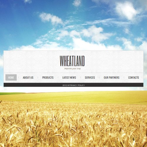 Wheatland - Facebook HTML CMS Template