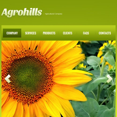 Agrohills - Facebook HTML CMS Template