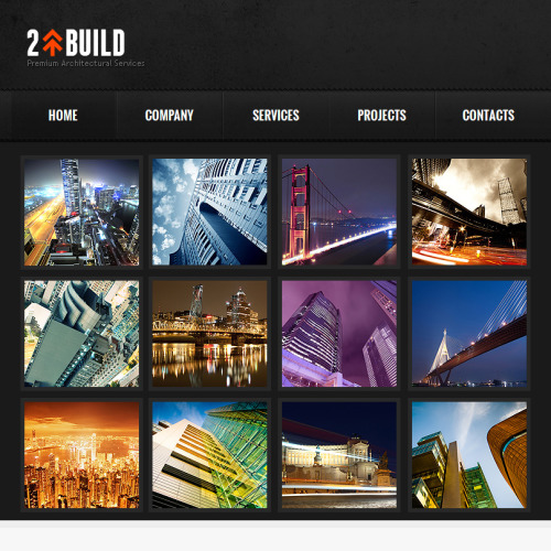 2 Build - Facebook HTML CMS Template
