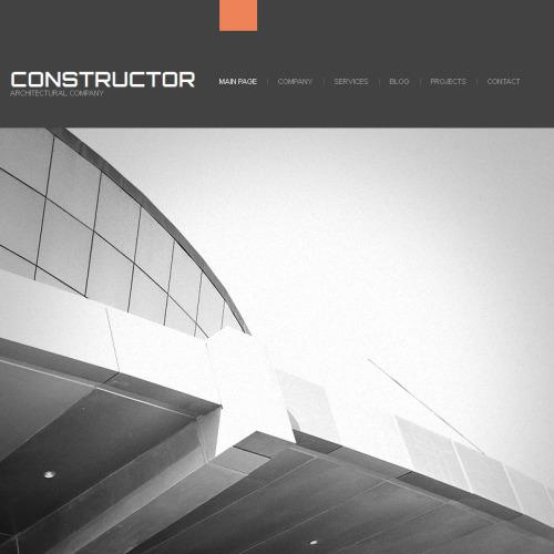 Constructor - Facebook HTML CMS Template