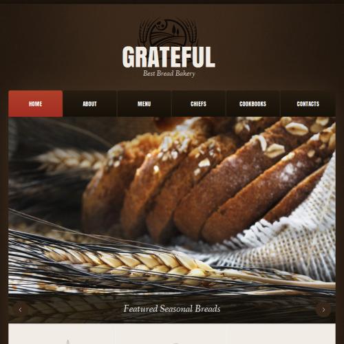 Grateful - Facebook HTML CMS Template