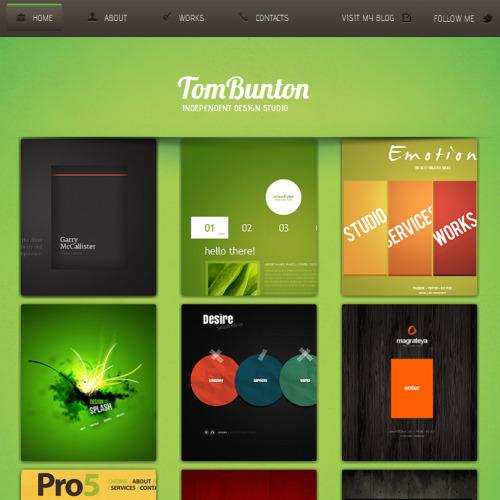 Tom Bunton - Facebook HTML CMS Template