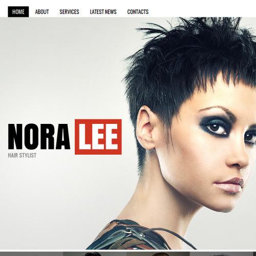 Nora Lee - Facebook HTML CMS Template