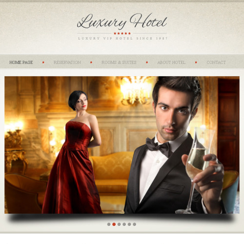 Hotel Royal - Facebook HTML CMS Template