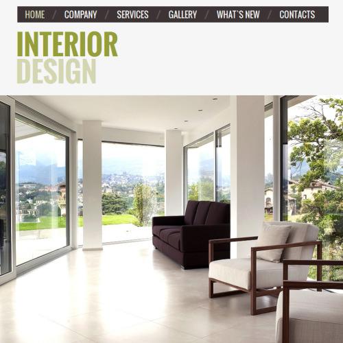 Interior Design - Facebook HTML CMS Template