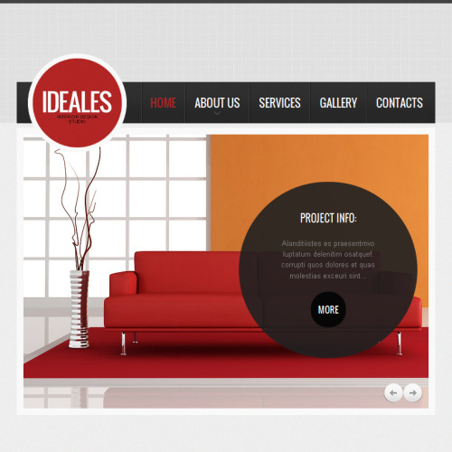Ideales - Facebook HTML CMS Template