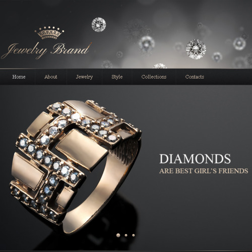 Jewelry - Facebook HTML CMS Template