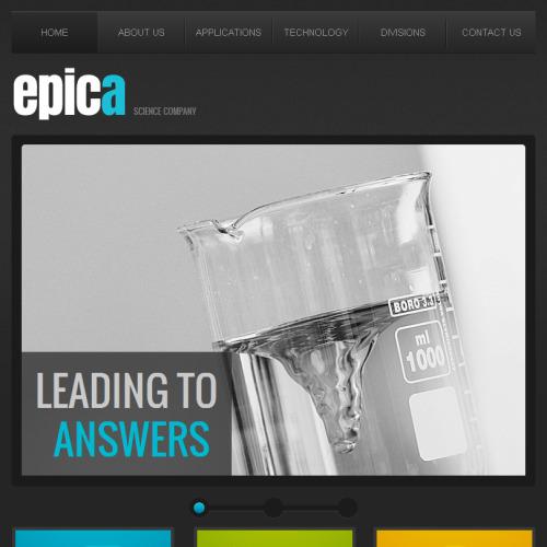 Epica - Facebook HTML CMS Template