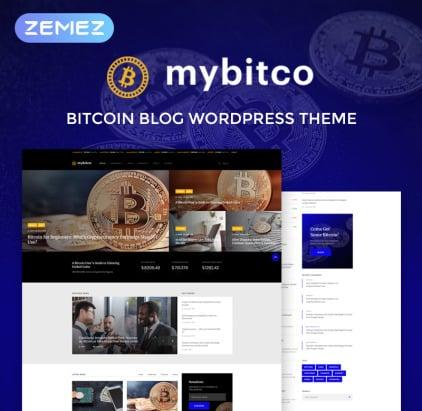 Bitcoin Blog WordPress Theme