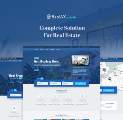 Real Estate Blog WordPress Theme