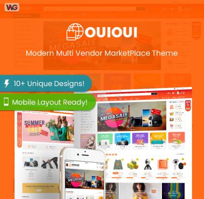 Multi Vendor MarketPlace Elementor WooCommerce Theme