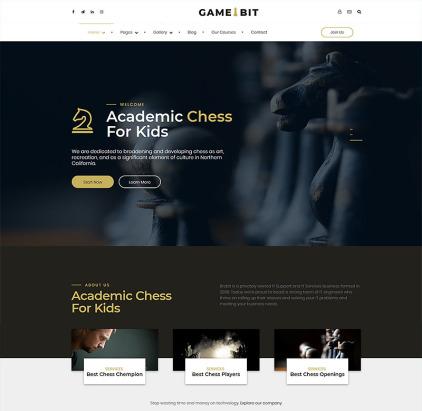 Best Chess Club WordPress Theme