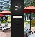 Hotels Facebook HTML CMS  Template 42305