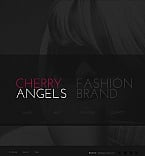Fashion Facebook HTML CMS  Template 42306