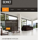Real Estate Facebook HTML CMS  Template 42308