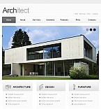 Architecture Facebook HTML CMS  Template 42309
