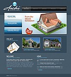 Architecture Flash CMS  Template 42326