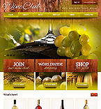 Food & Drink Jigoshop Template 42340