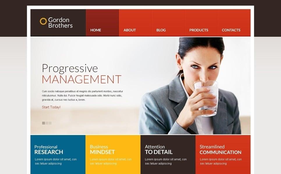 Reszponzív Befektetési társaságok Drupal sablon New Screenshots BIG