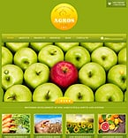 Agriculture Website  Template 42355