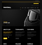 Sport Website  Template 42359