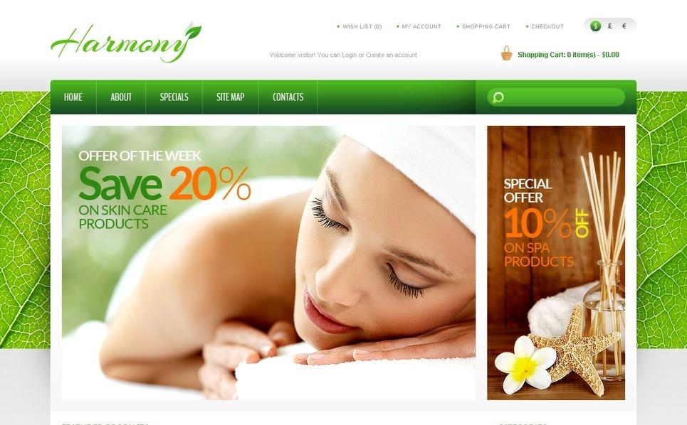 Thème OpenCart  pour site de pharmacie New Screenshots BIG