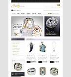 Jewelry OpenCart  Template 42363