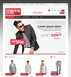 Fashion ZenCart  Template 42366