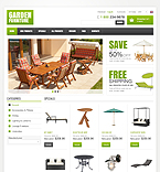 Furniture ZenCart  Template 42368