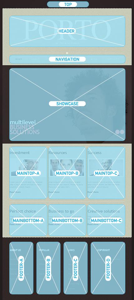 Joomla Theme/Template 42379 Main Page Screenshot
